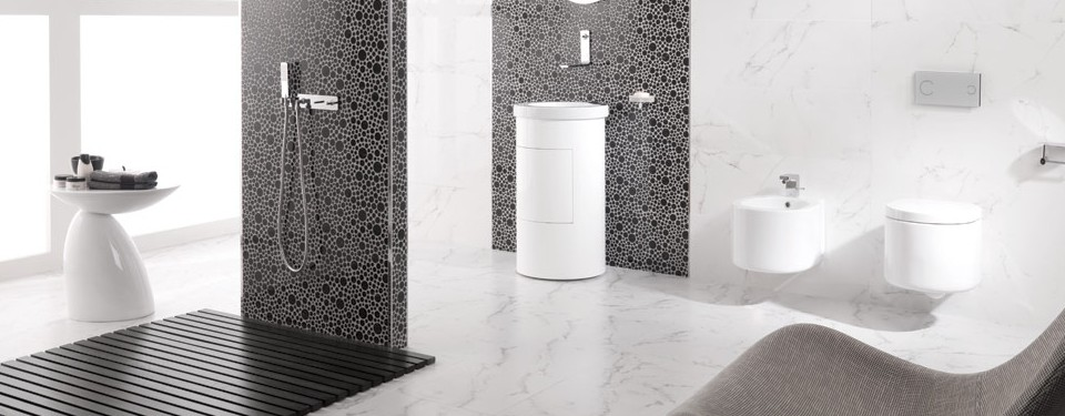 Porcelanosa Grey & White